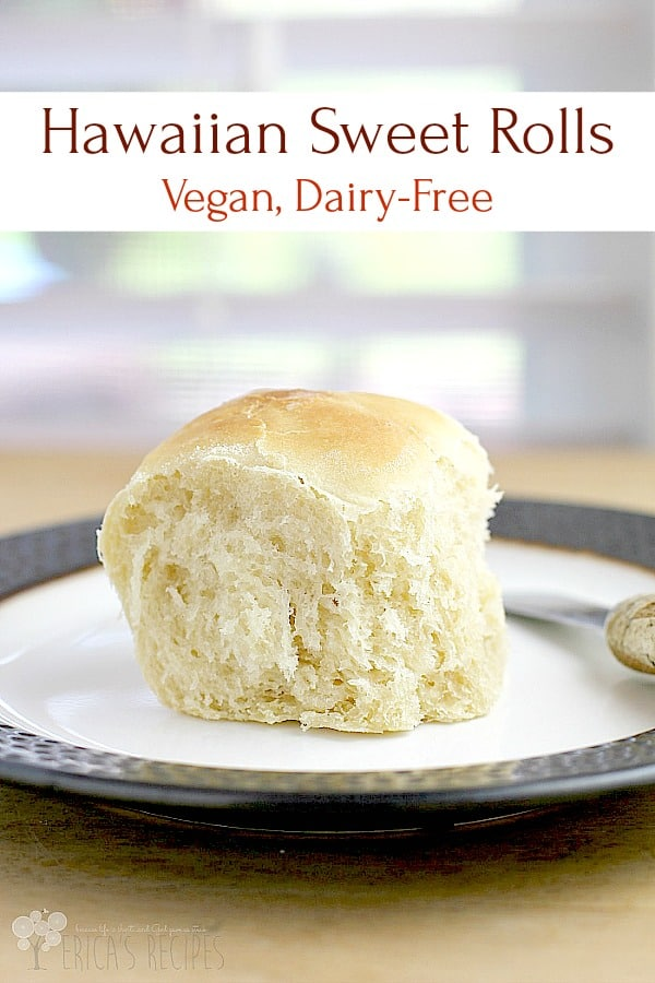 Vegan Hawaiian Sweet Rolls