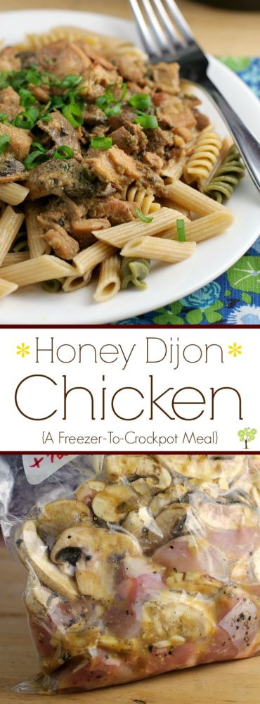 Honey Dijon Chicken {A Freezer-To-Crockpot Meal} http://wp.me/p4qC4h-3r2