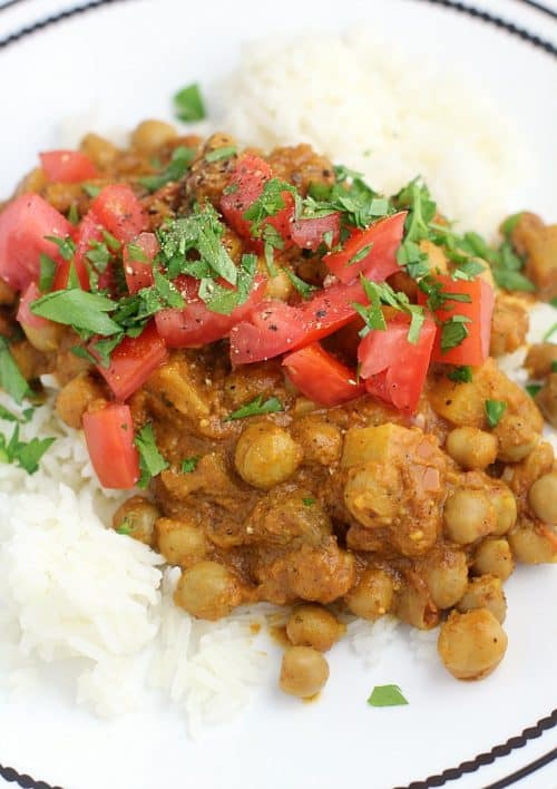 Slow Cooker Chana Masala, Southern Style {Vegan} http://wp.me/p4qC4h-3qZ