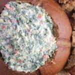 No-Bake Spinach Artichoke Dip (DF, V)