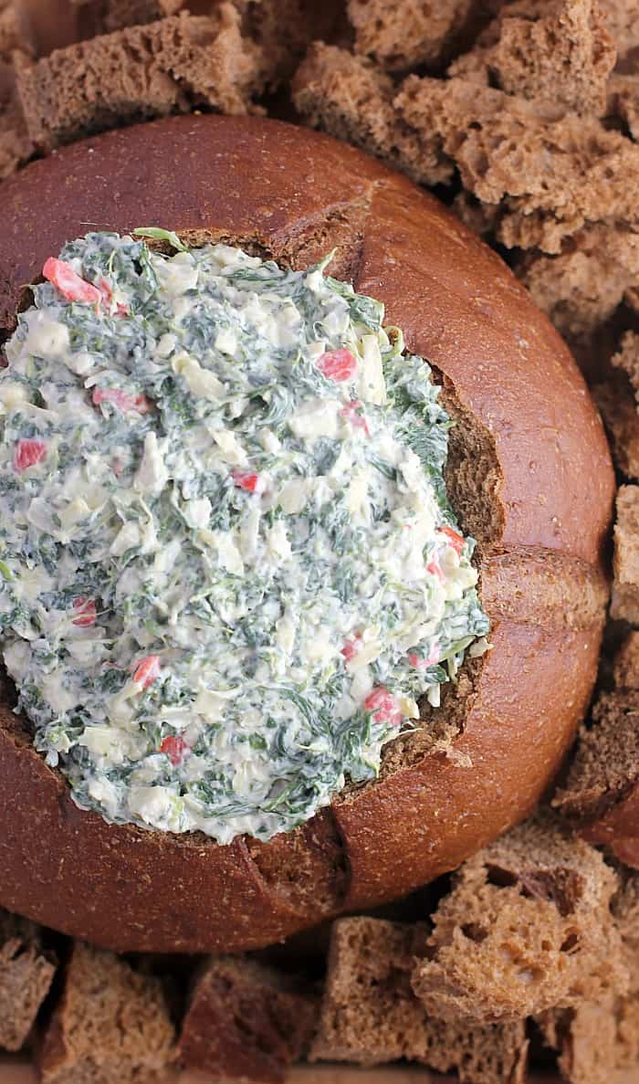 No-Bake Spinach Artichoke Dip http://wp.me/p4qC4h-3wD