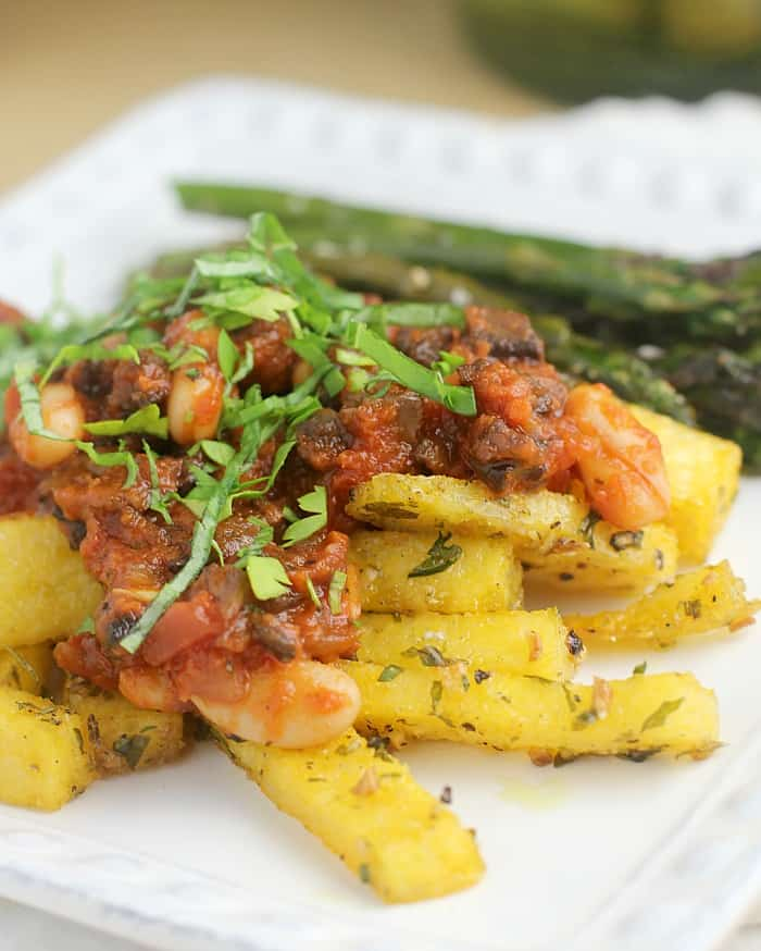 Quick Bolognese over Polenta Fries http://wp.me/p4qC4h-3yS