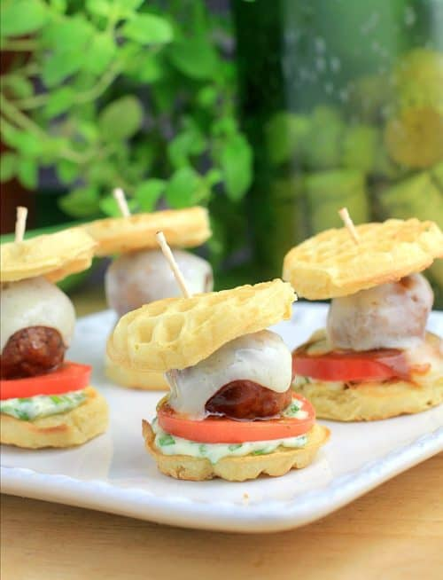 Barbecue Meatball Waffle Sliders http://wp.me/p4qC4h-3CJ