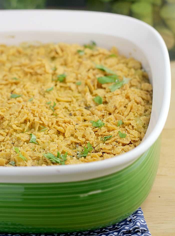 Creamy Poblano Macaroni Bake {Dairy-free, Vegan} http://wp.me/p4qC4h-3zI