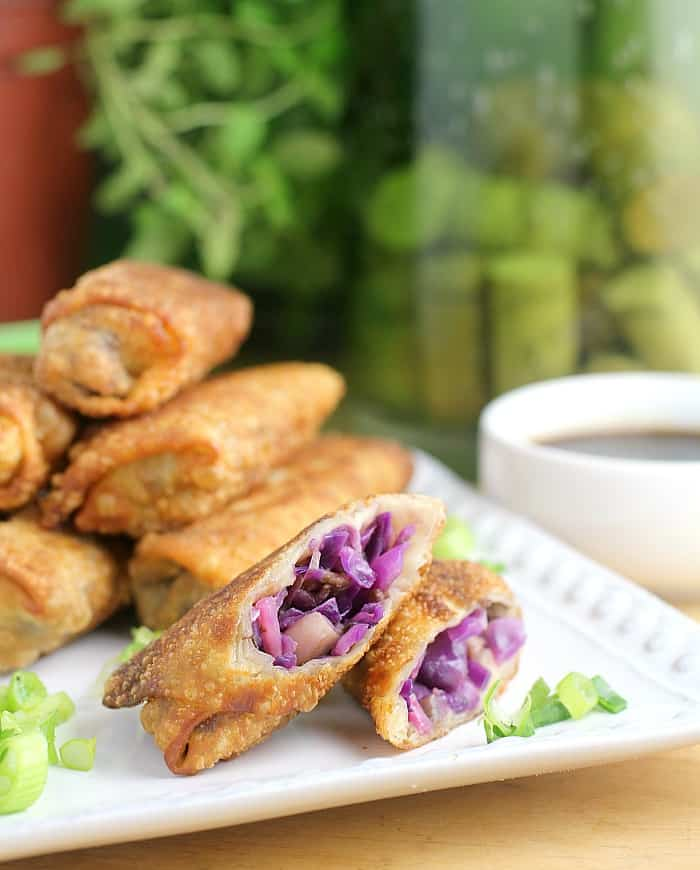 Red Cabbage and Raddish Spring Rolls http://wp.me/p4qC4h-3vj
