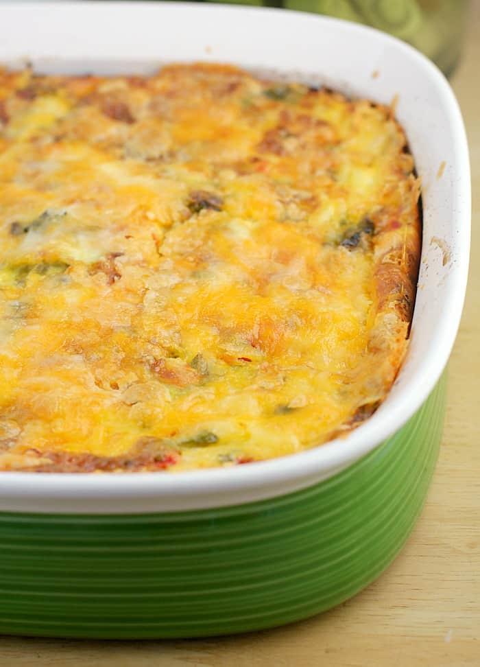Roasted Poblano Breakfast Casserole http://wp.me/p4qC4h-3Az
