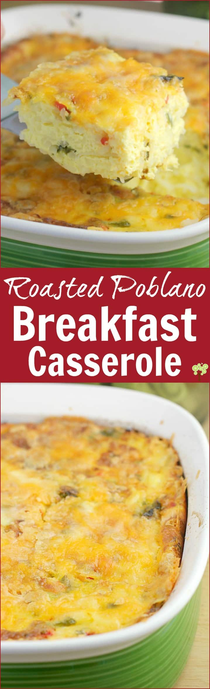 Roasted Poblano Breakfast Casserole http://wp.me/p4qC4h-3Az