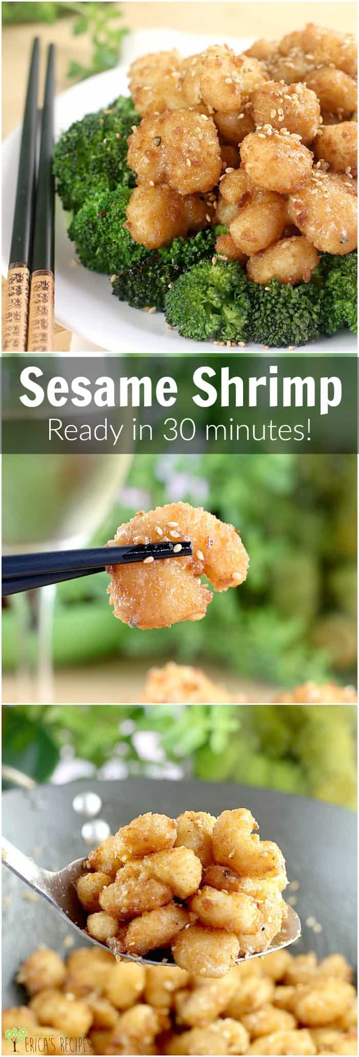 Msg 4 21+ Sesame Shrimp (30 Minute Meal!) http://wp.me/p4qC4h-3ED #40PerfectPairings #ad