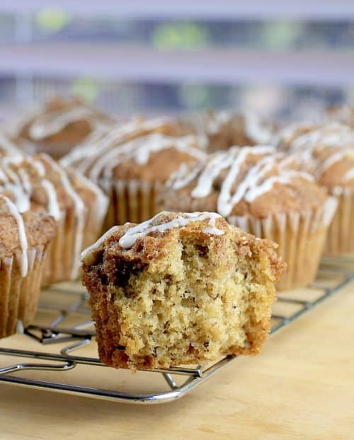 Caramel Pecan Coffee Cake Muffins (Dairy-Free) http://wp.me/p4qC4h-3Js #SilkandSimplyPureCreamers AD