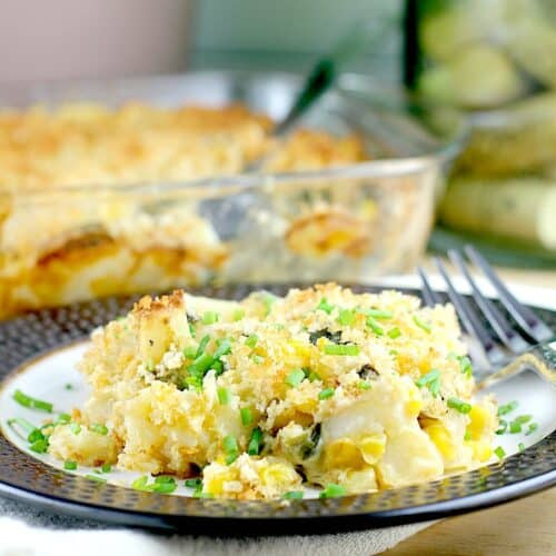 Chipotle Corn, Poblano, and Potato Gratin http://wp.me/p4qC4h-3ug