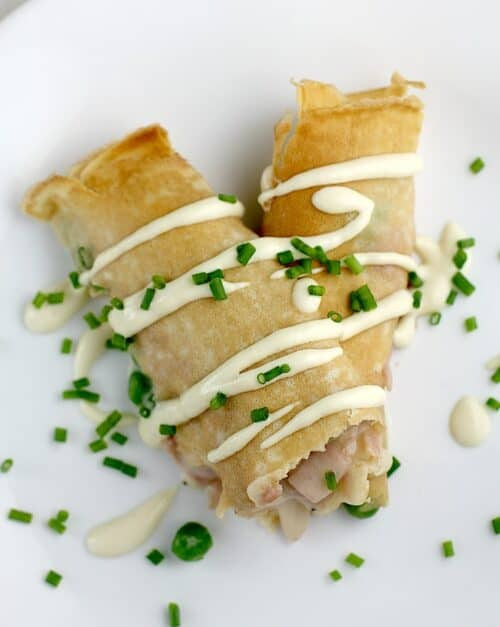 Ham, Peas, and Cheese Crepes http://wp.me/p4qC4h-3Id