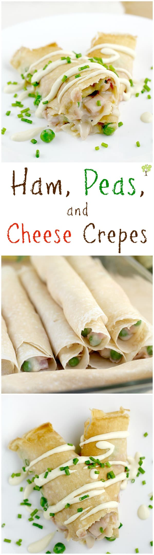 Ham, Peas, and Cheese Crepes http://wp.me/p4qC4h-3Id #food #recipe #BeyondTheSandwich #ad