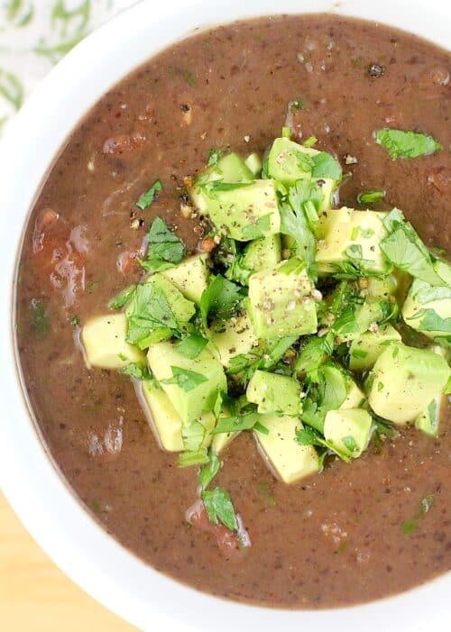 Secret Ingredient Black Bean Soup http://wp.me/p4qC4h-3IC