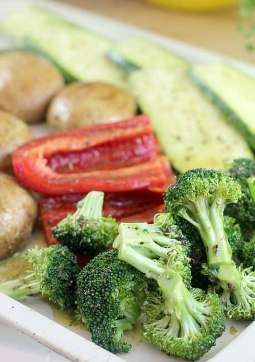 Spicy Grilled Veggie Hoagies