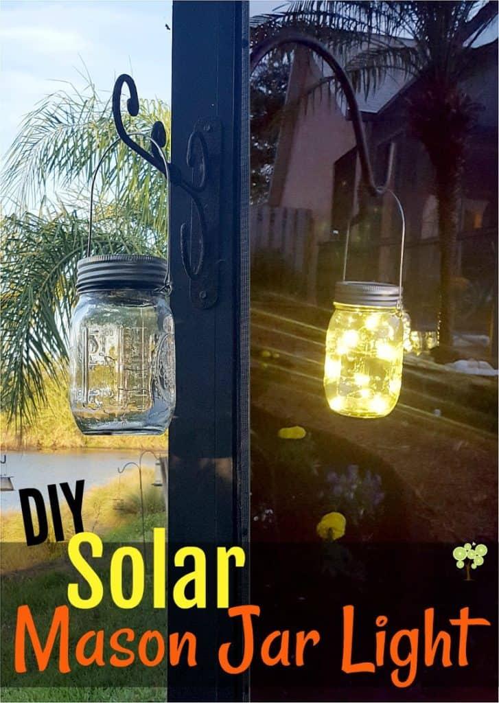 Solar Mason Jar Light
