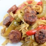 Best Ever Sweet Sausage and Peppers
