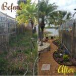 Garden Transformation: Trainwreck to Bee Haven