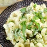 Easy Broccoli Pesto Cavatappi