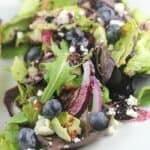 Blueberry Balsamic Salad …and Pizza