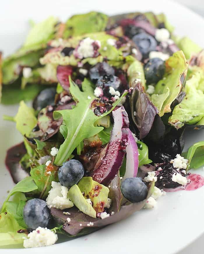 Blueberry Balsamic Salad