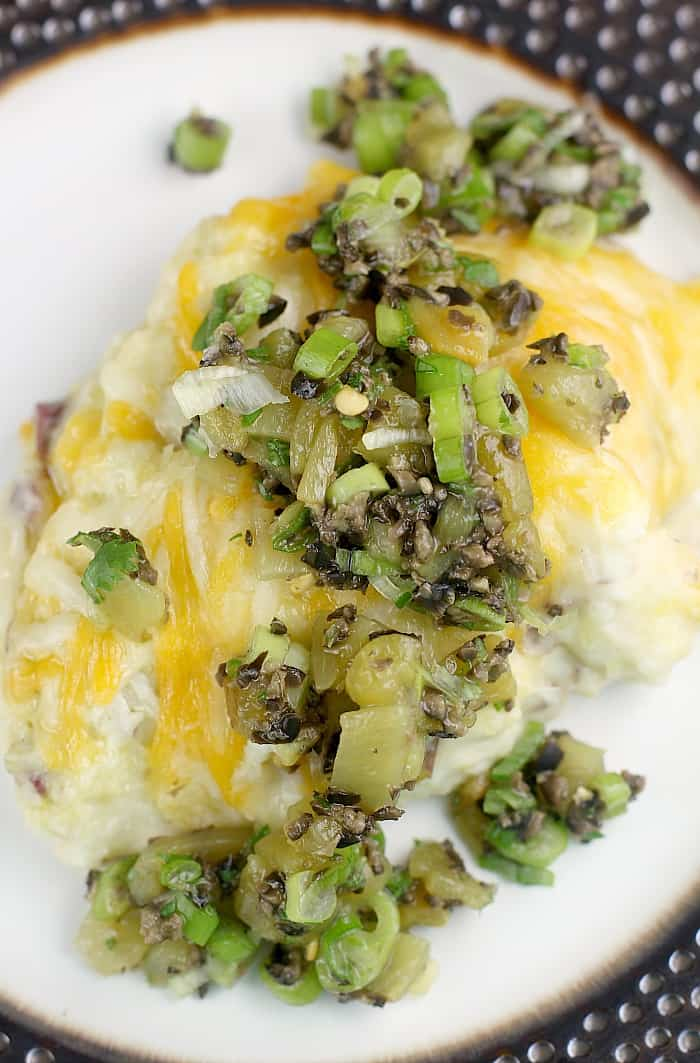 Hatch Green Chile Mashed Potatoes