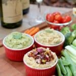 Msg 4 21+ Vegetarian Charcuterie Board with Hummus Flight #ShareWineandBites #ad
