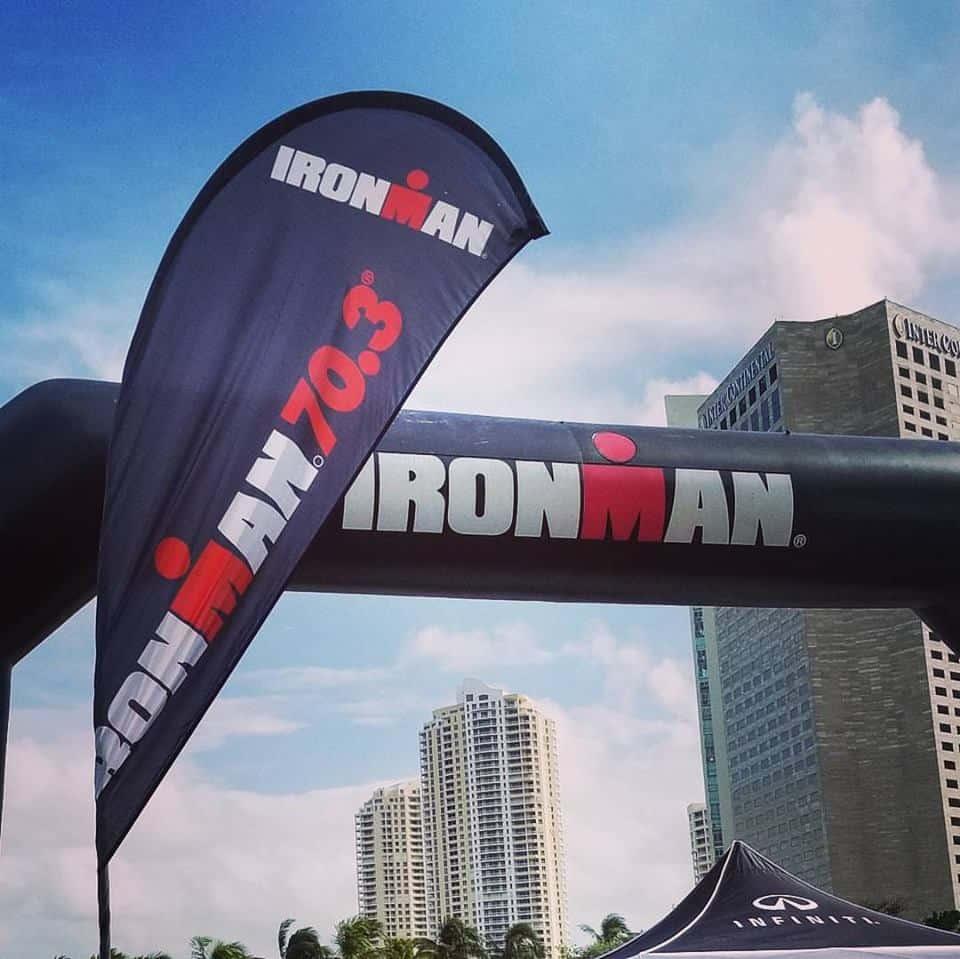 Ironman Miami 70.3 Race Recap …Pelotons and Pizza