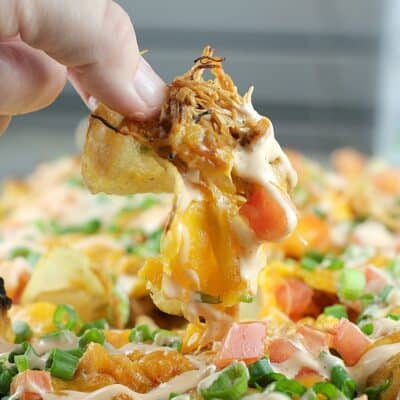 Loaded Sriracha Chicken Kettle Chips
