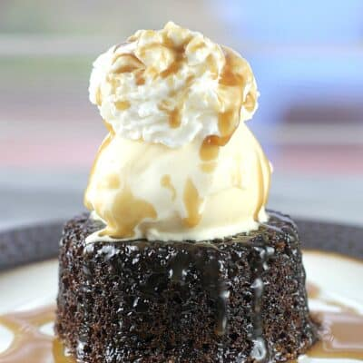 Sticky Toffee Pudding Sundae