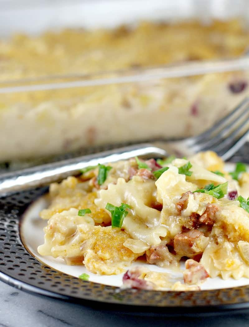 Cranberry Chorizo Macaroni and Cheese