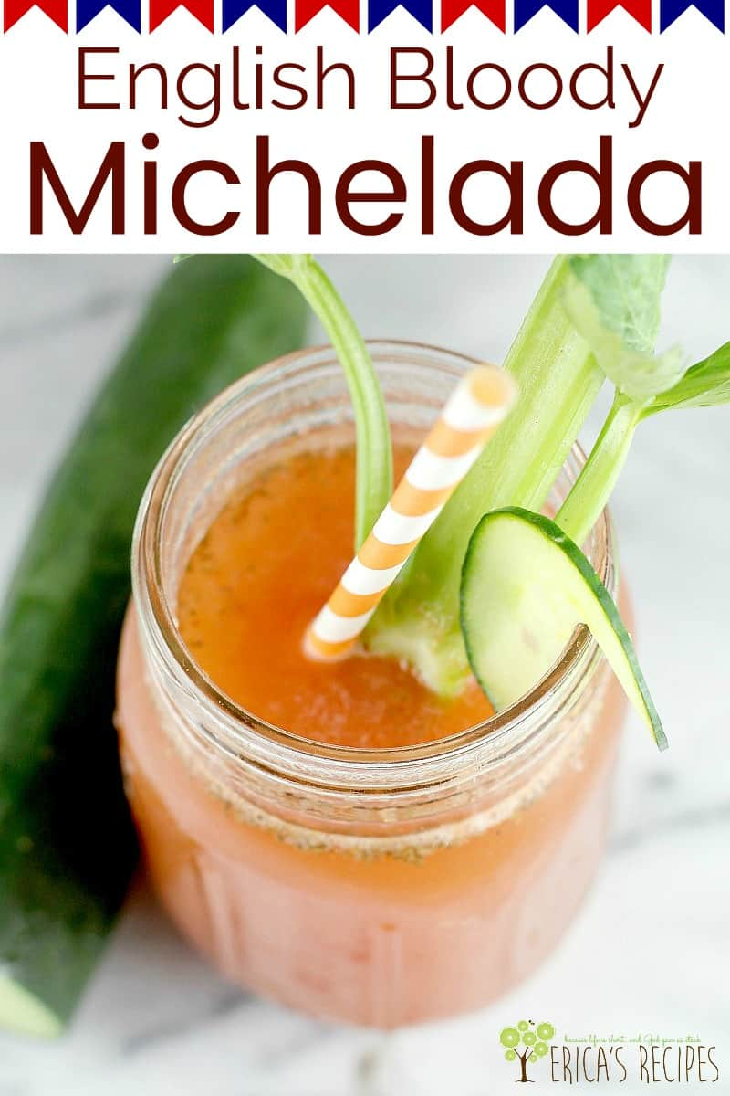 [Msg 4 21+] English Bloody Michelada is a British spin on the traditional Michelada. #WinWithClamato AD #recipe #drink