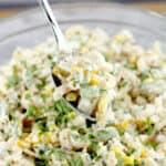 Cajun Maque Choux Macaroni Salad