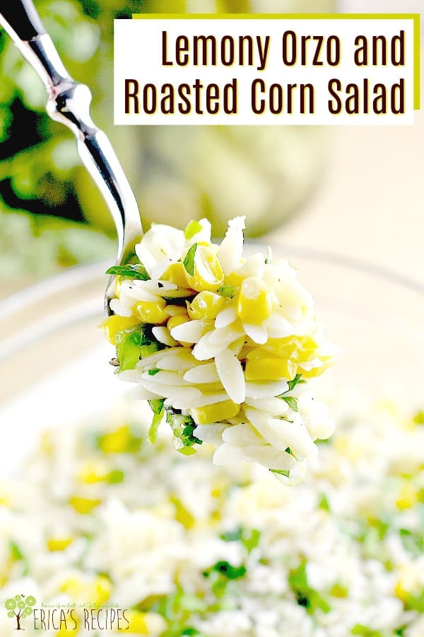 Lemony Orzo and Roasted Corn Salad