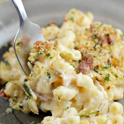 Bacon and Boursin Macaroni and Cheese
