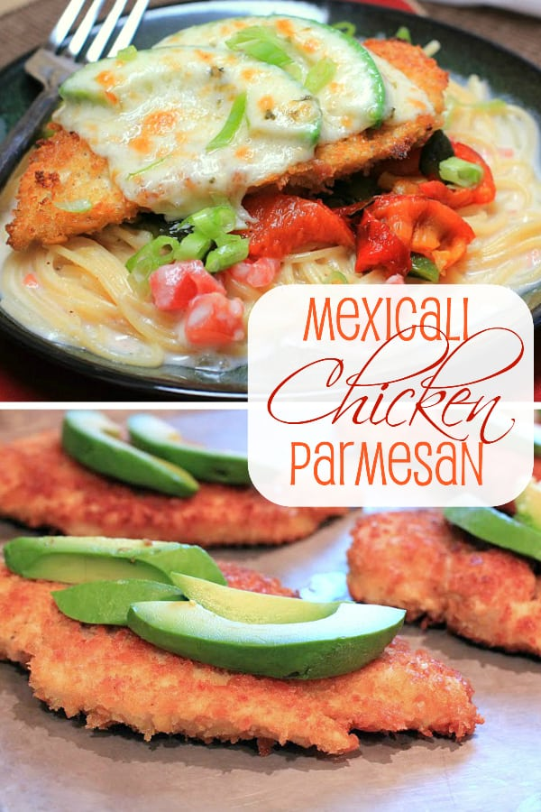 Mexicali Chicken Parmesan