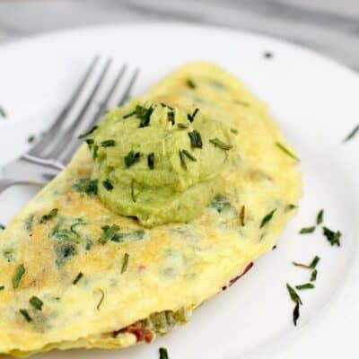 Bacon Jalapeno Popper Omelet | Keto Breakfast, Dairy-Free