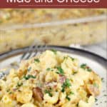 image for pinterest with text overlay of the recipe title