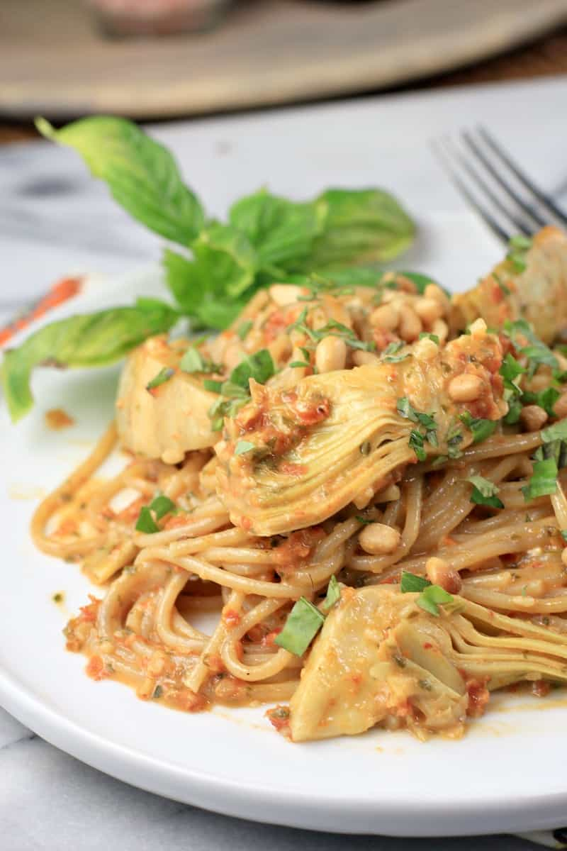 Sun Dried Tomato Pesto Pasta