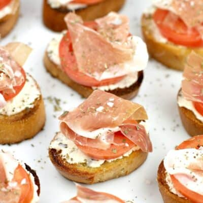 Crostini with Prosciutto