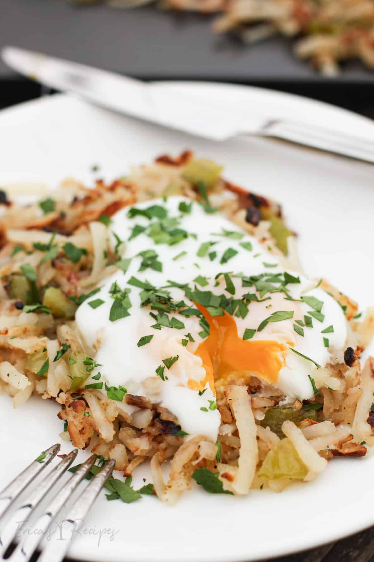 Griddle Hash Browns
