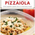 image for pinterest with text overlay recipe title